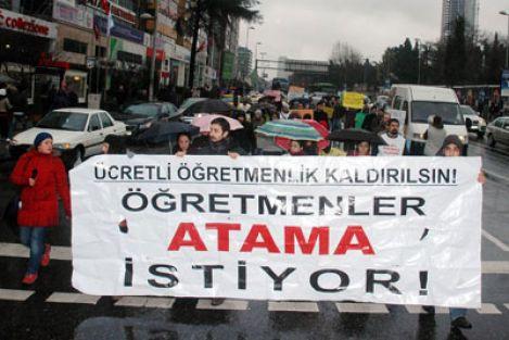 Şubat'ta 40 bin atama yoksa, Ocak'ta Ankara'dayız