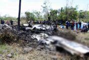 Sudan'da askeri uçak düştü