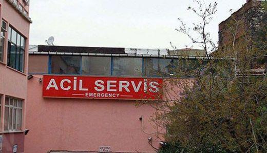 Taksim ilk yardım hastanesi çalışanlarından eylem