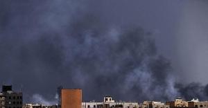 Husi liderlerine ait hedeflere hava saldırısı