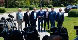 Memur-Sen ve AB-KİK üyesi STK'lar Başbakan Davutoğlu ile bir araya geldi