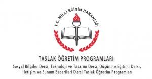 MEB, Taslak Öğretim Programlarını Kamuoyunun Görüş ve Önerilerine Sundu