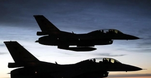 PKK hedeflerine hava operasyonu sürüyor