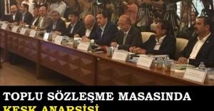 TOPLU SÖZLEŞME MASASINDA KESK ANARŞİSİ...