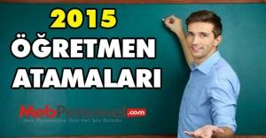 Öğretmen Atama Kontenjanları - Kılavuzu...