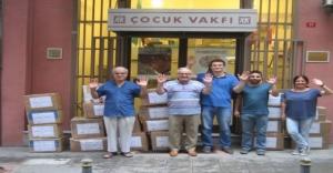Çocuk Vakfı Köy Çocuklarına...