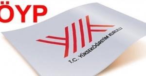 ÖYP'de 3 alanda daha kadrolar ilan edildi