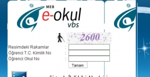 E-okul Veli Bilgilendirme Sistemi MEB 2016