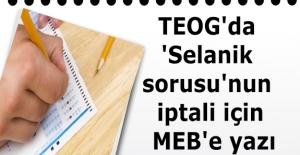 TEOG#039;da #039;Selanik sorusu#039;nun...
