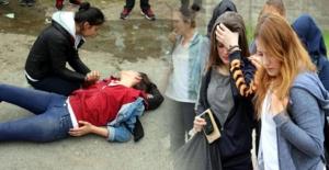 Hafif ticari aracın çarptığı lise öğrencisi yaralandı