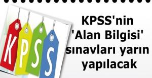 KPSS#039;nin #039;Alan Bilgisi#039;...