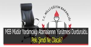 MEB Müdür Yardımcılığı Atamalarının...