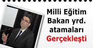 Milli Eğitim Bakan yardımcısı Orhan...