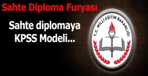 Sahte diplomaya KPSS modeli