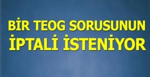 TEOG Türkçe#039;de özveri sorusuna...