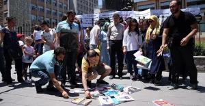 Atama bekleyen öğretmen adaylarının 'ATAMA' çağrısı ses getirdi