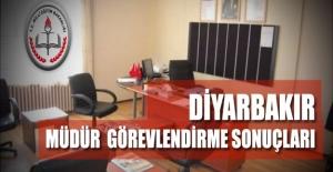Diyarbakır Müdür Görevlendirme Sonuç...