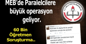 MEB'de Paralelcilere büyük operasyon geliyor.