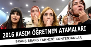 Kasım Öğretmen Atamaları Tahmini...