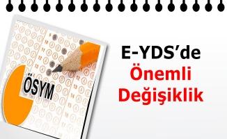 e-YDS'de önemli değişiklik