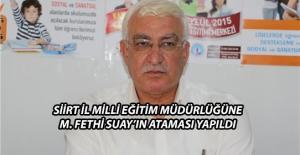 Fethi Suay'ın Ataması Resmi Gazete'de
