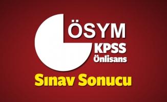 KPSS (Önlisans) sınav sonucu ne zaman açıklanacak?