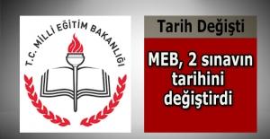 MEB 2 Sınavın Tarihini Değiştirdi