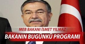 Millî Eğitim Bakanı İsmet YILMAZ'ın Bugünkü Antalya Programı