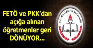 PKK ve FETÖ#039;den Açığa Alınanlardan...