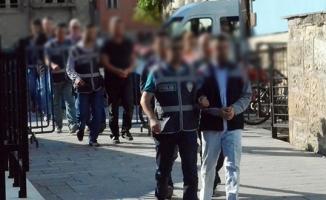 Yozgat'ta 9 öğretmen ve emniyet personeli tutuklandı