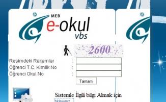 E-okul veli bilgilendirme sistemi (karne notları öğrenme)