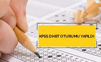 KPSS DHBT oturumu yapıldı