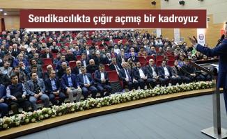 Ali Yalçın: ''Sendikacılıkta çığır açmış bir kadroyuz''