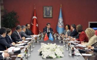 Bakan Yardımcısı Erdem, UNICEF heyetini kabul etti