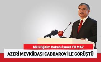 Bakan Yılmaz, Azerbaycan Eğitim Bakanı ile bir araya geldi