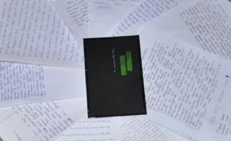 Öğrencilerden askere moral mektubu