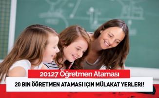 20 bin sözleşmeli öğretmen başvuru sonuçları!