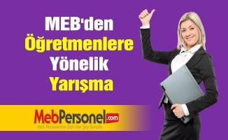 MEB'den Öğretmenlere Yönelik Yarışma