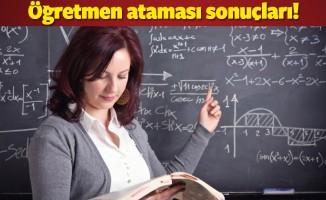 MEB - Sözleşmeli öğretmen ataması başvuru sonuçları