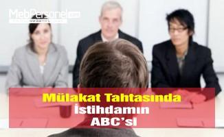 Mülakat Tahtasında İstihdamın ABC'si
