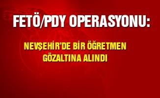 Nevşehir'de 1 öğretmen, 1 tekniker ile 3 kişi tutuklandı