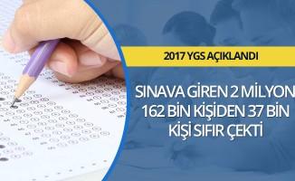 YGS'de 37 bin aday sıfır çekti