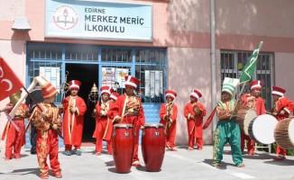 Edirne'de ilkokul öğrencileri 'mehteran takımı' kurdu