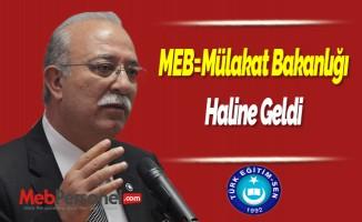 ''MEB=Mülakat Bakanlığı'' Haline Geldi