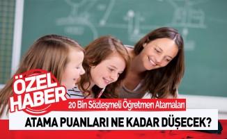 20 Bin Öğretmen Atamasında Puanlar Ne Kadar Düşecek?