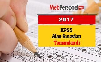 KPSS Alan Sınavları Tamamlandı