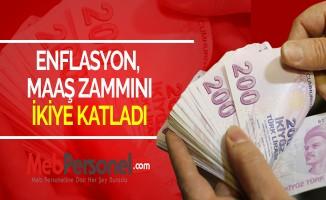 ENFLASYON, MAAŞ ZAMMINI İKİYE KATLADI