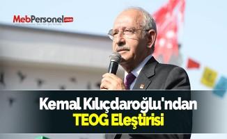 Kemal Kılıçdaroğlu'ndan TEOG Eleştirisi