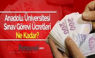 Anadolu Üniversitesi Sınav Görevi Ücretleri Ne Kadar?