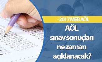 AÖL sınav sonuçları ne zaman açıklanacak? - 2017 MEB AÖL